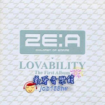 【象牙音樂】韓國人氣團體-- ZE:A Vol. 1 - Lovability (Normal Edition) 一般版