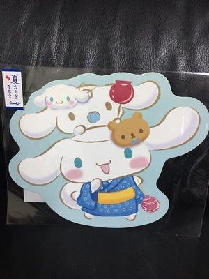 【莓莓小舖】正版 ♥ Sanrio 三麗鷗 Cinnamoroll 大耳狗 和風卡片