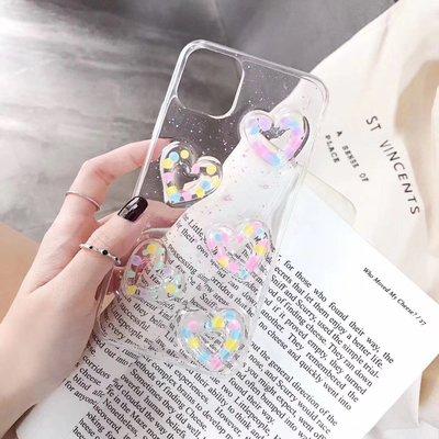 ☆韓元素╭☆Mobile-Style 彩色愛心造型 iPhone 11 Pro 保護套 5.8吋 軟式保護殼 透明 防摔