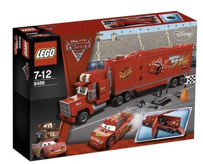 Lego Cars 8486 Mack's Team Truck 2011 374 pcs