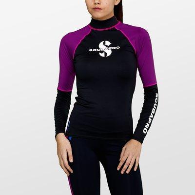 台灣潛水---SCUBAPRO T-LONG SLEEVE UPF50 - WOMEN防曬衣