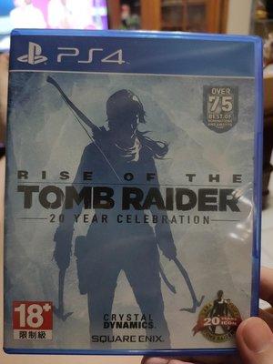 PS4 古墓奇兵 崛起 中文版 二手 Rise of the Tomb Raider 台中市