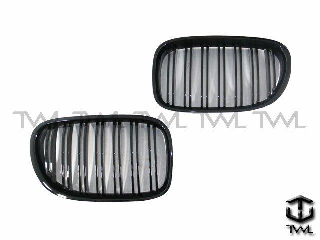 《※台灣之光※》全新寶馬BMW F01 F02 F03 08 09 10 11 12 13 14 15年二線亮黑鼻頭組