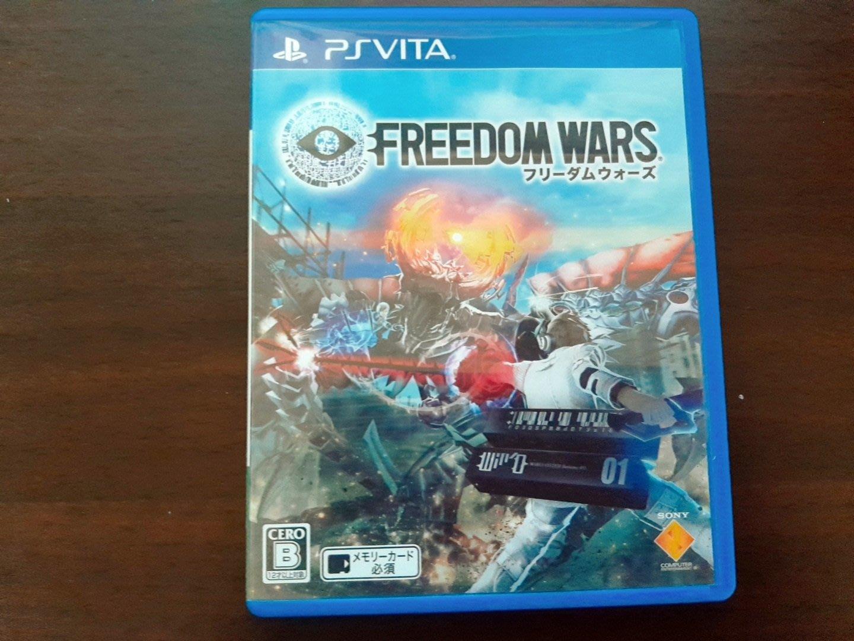 PSV 自由戰爭 Freedom Wars 日文版