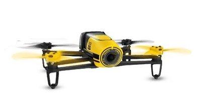 【翼世界】法國parrot bebop drone 四軸飛行器 空拍機(黃色單機版)