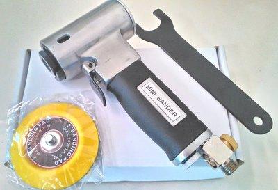 台製 3吋 氣動研磨機 拋光機 磨光機 砂光機 (DA機)