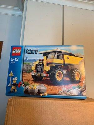 Lego 4202 City mining Truck