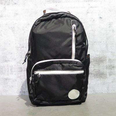 【iSport愛運動】CONVERSE 雙肩後背包 黑 10009235A01