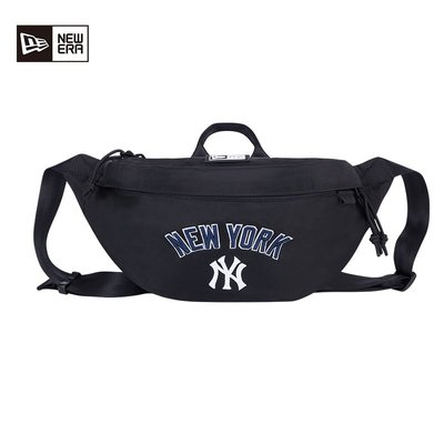 溜溜newera紐亦華MLB洋基隊2021春新時尚腰包男女NY/LA情侶運動斜挎包