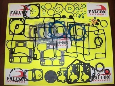 哈雷1984-1999引擎大修理包 Evo 1340 BIG BORE Upper/Top End Gasket Set