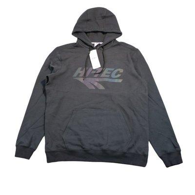Cover Taiwan 官方直營 HI-TEC 英國 嘻哈 雷射 反光 漸層 帽Tee 帽t 灰黑色 大尺碼 (預購)