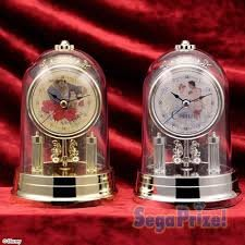 41+ 現貨不必等 正版授權   公主玻璃造型鐘 旋轉鐘 景品 1022522  my4165