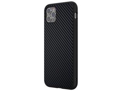 3【犀牛盾 iPhone 11 PRO MAX SolidSuit 防摔背蓋手機殼 - 碳纖維 黑