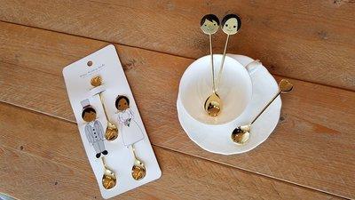 日本高桑金屬「不鏽鋼婚禮主題小湯匙」(Happy Wedding Spoon)