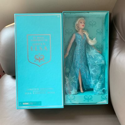 Disney Frozen By Royal agreement of Queen Elsa Fashion Doll Limited Edition 12""