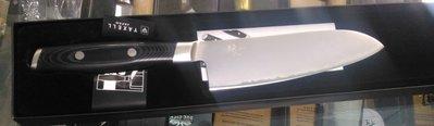J日本製YAXELL 紋 17公分三德刀 ~VG~10蕊鋼刀菜刀日式菜刀包丁