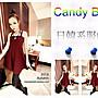 ☆Candy Box☆2014秋裝新款韓版連衣裙 酒紅...