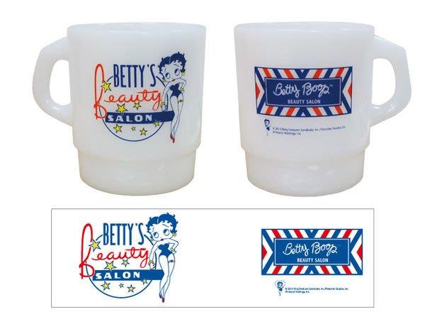 (I LOVE樂多)日本進口 BETTY貝蒂杯子(乳白款) 送禮自用兩相宜