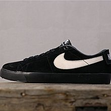 Nike SB Zoom Blazer Low QS Antihero 黑白 休閒運動 滑板鞋 943849-010 男鞋