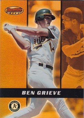 2000 Bowman's Best #48 Ben Grieve