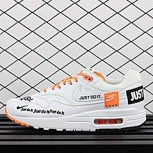 "Nike Air Max 1 ""Just do it "" 917691-100 經典 復古 氣墊 慢跑鞋 男女"