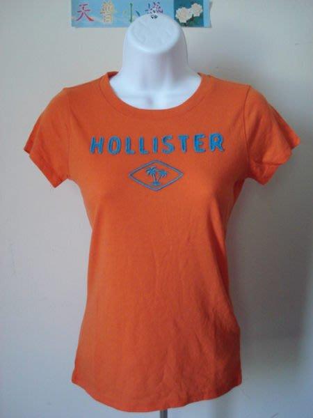 【天普小棧】HOLLISTER HCO Little Harbor Tee女生貼布刺繡短袖T恤 S號 現貨抵臺