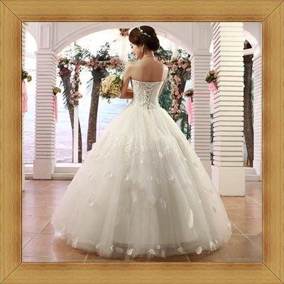 婚紗禮服創意原創-鬆緊甜美奢華新娘伴娘晚宴服53b45[英國進口][米蘭精品]