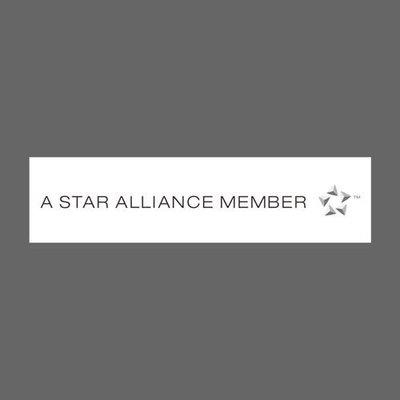 星空聯盟成員 白 Star Alliance MEMBER  航空公司 防水貼紙