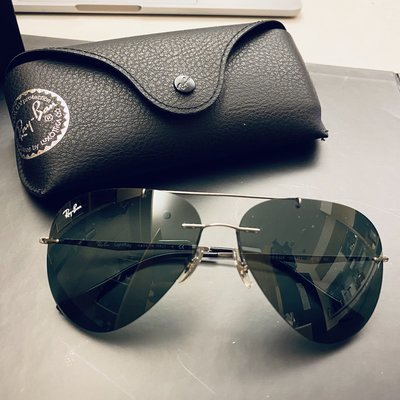 Ray Ban 雷朋 RB8055 004/71 LightRay 59mm 義大利製 公司貨 飛行員 RB3025 新