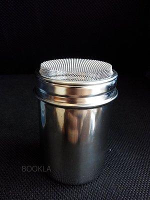 花式 咖啡 304不銹鋼 可可 肉桂 糖粉 撒粉罐 撒粉器 胡椒粉 烘焙 糖粉篩 附蓋 奶泡 拉花 加購模具80元