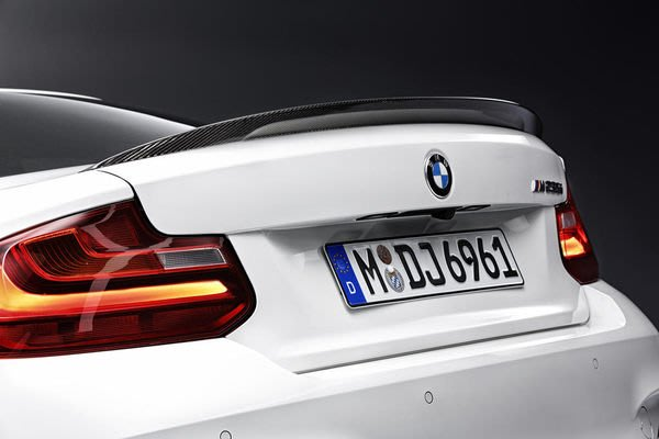 【樂駒】BMW F22 F87 M Performance rear carbon spoiler  碳纖維 尾翼 改裝