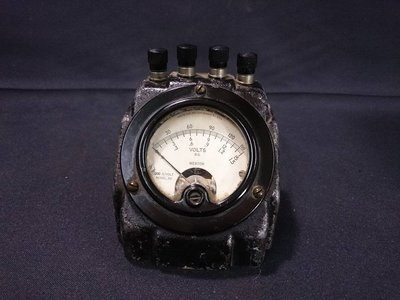 *阿柱的店* 1934年 Weston Electrical Instrument volts 檢流計/伏特/電錶