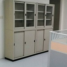 亞毅oa辦公家具 玻璃拉門鐵櫃 三尺鐵櫃 四尺鋼製公文櫃 文件櫃 檔案櫃 書櫃 工廠 資料櫃