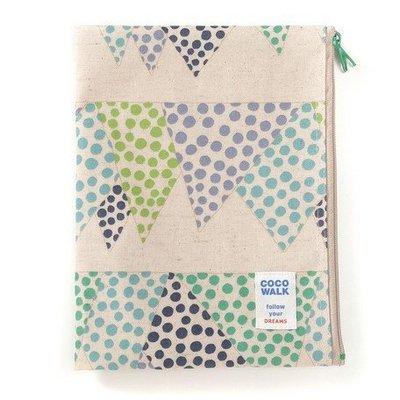 日本cocowalk可愛母子手帳包信用卡夾證件夾