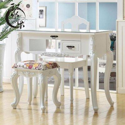 聚樂 白色烤漆美甲桌 美甲店單人雙人三人桌椅套裝 簡約美甲臺