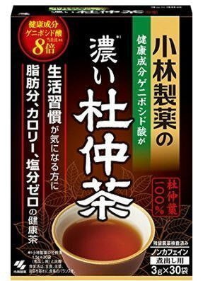 ☆JAPANPLAZA☆日本 小林製藥 濃的 杜仲茶 3g*30 ~~現貨特價