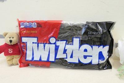 【Sunny Buy】◎預購◎ Twizzlers 黑甘草口味 453g 扭扭糖蠟燭糖吸管糖