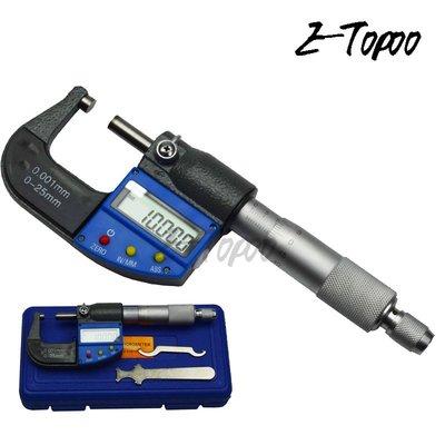 Etopoo 0-25MM 0.001MM  高品質 數顯千分尺 整體金屬 升級款 1279AE