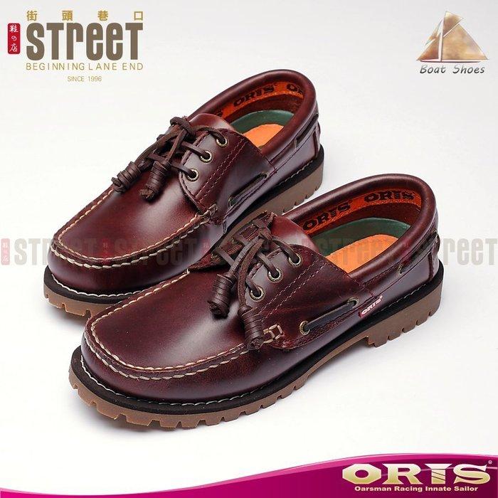【街頭巷口 Street】 ORIS 女款 時尚淑女品味 獨特繫帶裝飾造型 雷根式帆船鞋 934A03-734A03