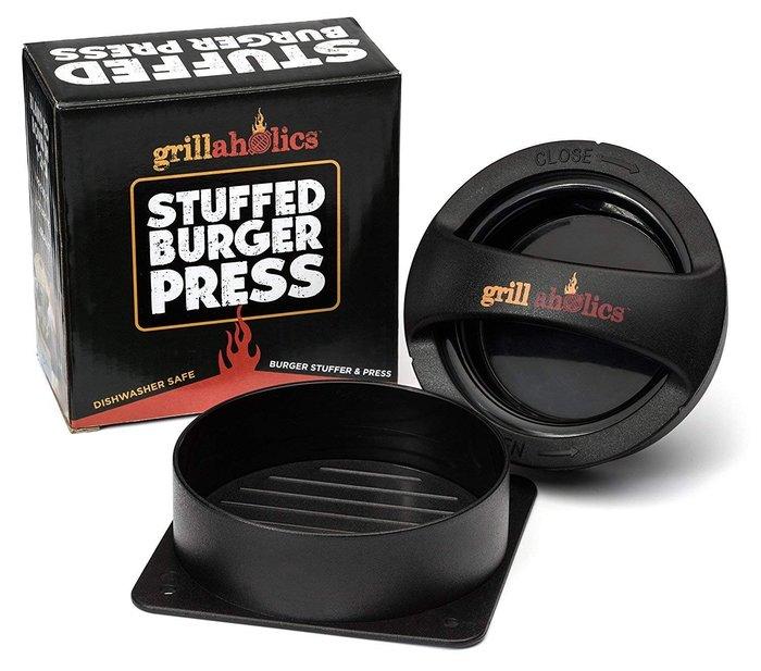 ~❤美國寶寶的衣櫥❤~(獨家現貨)美國Grillaholics漢堡肉製造器 漢堡壓肉器 親子廚房
