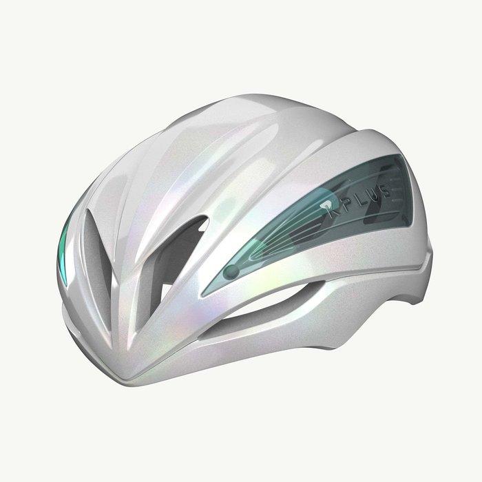 【三鐵共購】【KPLUS】ULTRA GALAXY系列公路競速空力單車安全帽-純白未來