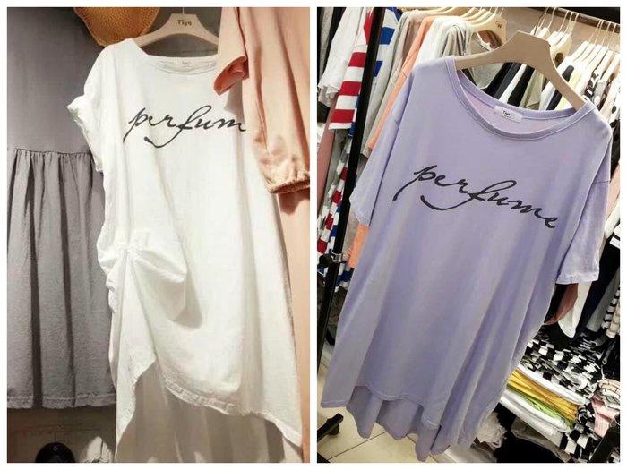 *KR Garden* 韓國連線 歐美字母長版上衣