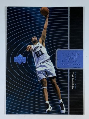 1998-99 Upper Deck Next Wave #NW10 Tim Duncan Spurs
