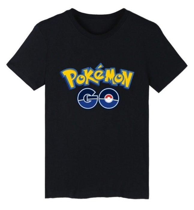 皮卡丘 妙蛙種子 Pokemon GO 寶可夢衣服 神奇寶貝T桖 T桖 傑尼龜 短袖T 帽T 七種顏色 需訂製特製