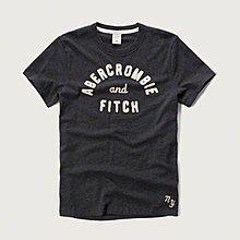 Abercrombie&Fitch 流行簡約文字款式,A&F美國麋鹿男士短袖T恤纯棉休閒T恤 【A&F全新品】