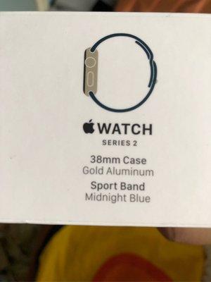 Apple Watch 2 38mm金色
