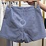 【2A Two】東大門➿蝴蝶結⌒高腰綁帶寬管短褲『BB00161』