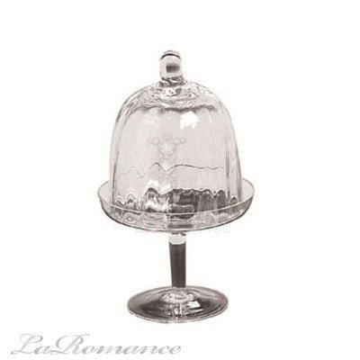 【Creative Home】 Casual Country 美式鄉村系列玻璃含蓋迷你蛋糕盤 / 布丁盤 / 點心盤
