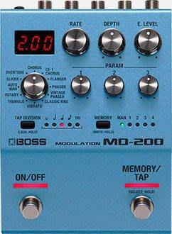 【成功樂器.音響】免運 BOSS MD-200 Modulation 調變效果器 公司貨保固
