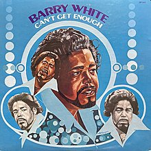 BARRY WHITE/CAN'T GET ENOUGH 西洋 黑膠唱片